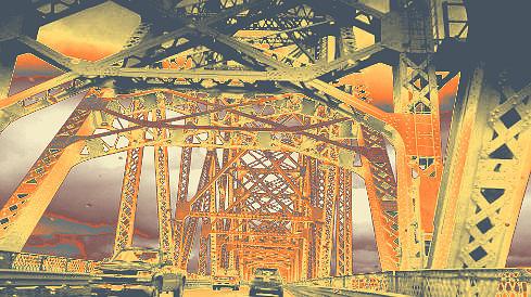 bridge to Longview #2 by Anne Westlund
