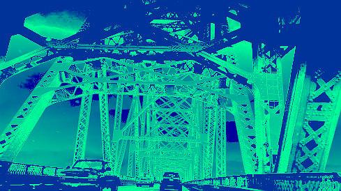 bridge to Longview #3 by Anne Westlund
