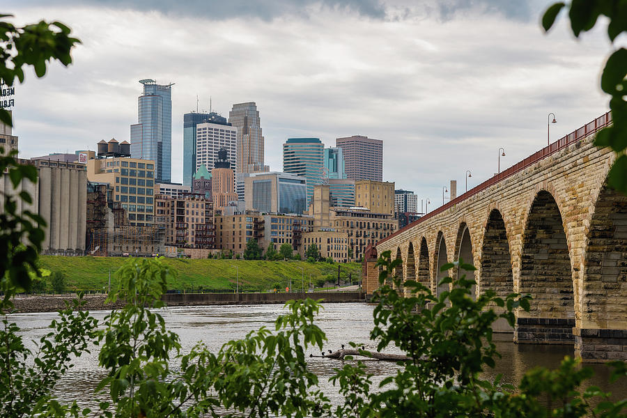 Bridge to Minneapolis by Ryan Heffron