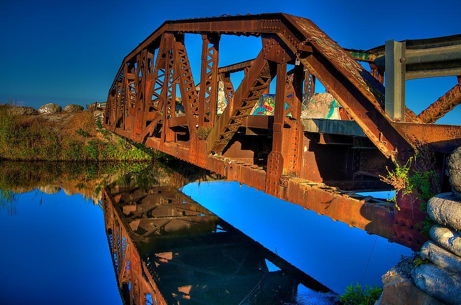 Bridge Photograph - Bridge To Yesterday by William Wetmore