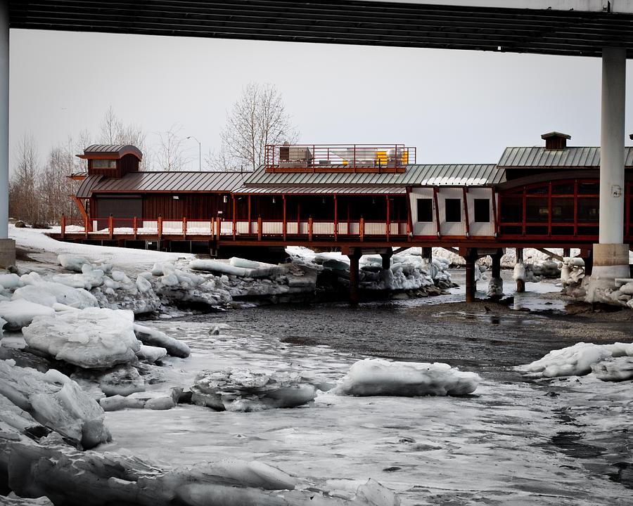 Bridge Under A Bridge Photograph by Jeannette Reddington