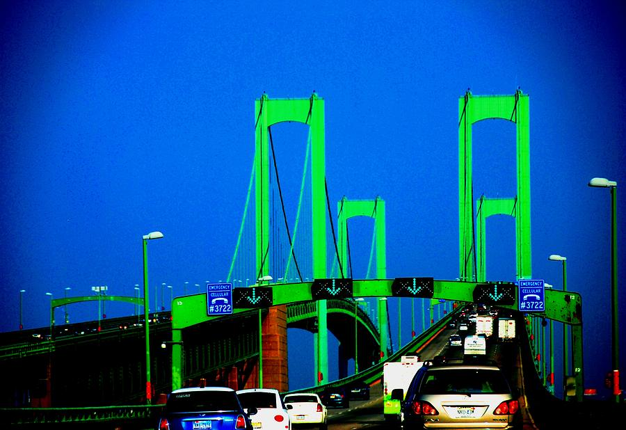 Nyc Photograph - Bridges 1x2010b by Fareeha Khawaja