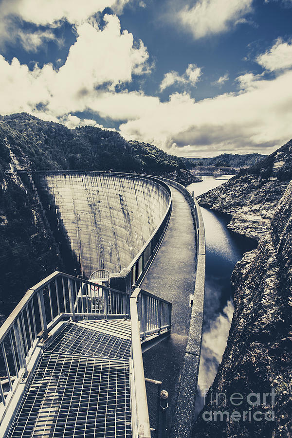 Lake Photograph - Bridges And Outback Dams by Jorgo Photography - Wall Art Gallery