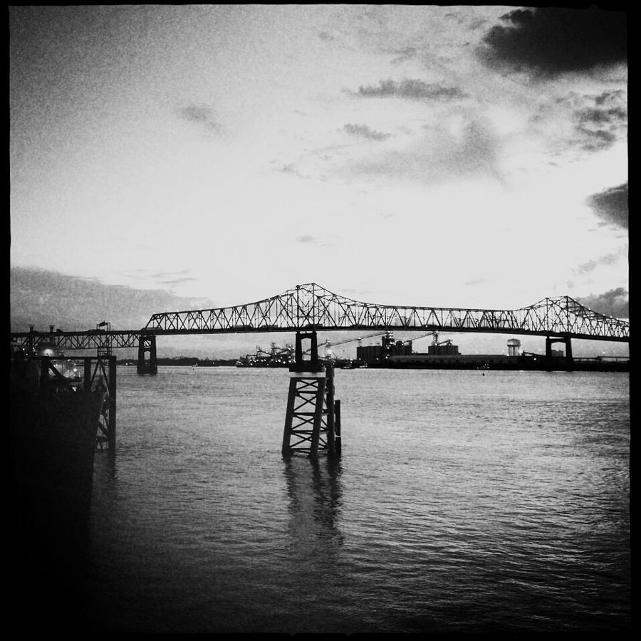 Bridge Photograph - Bridges  by Judith Kitzes