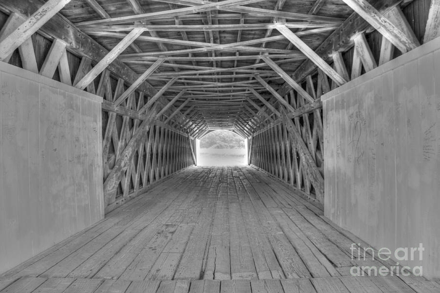 Hdr Photograph - Bridges of Madison County by David Bearden
