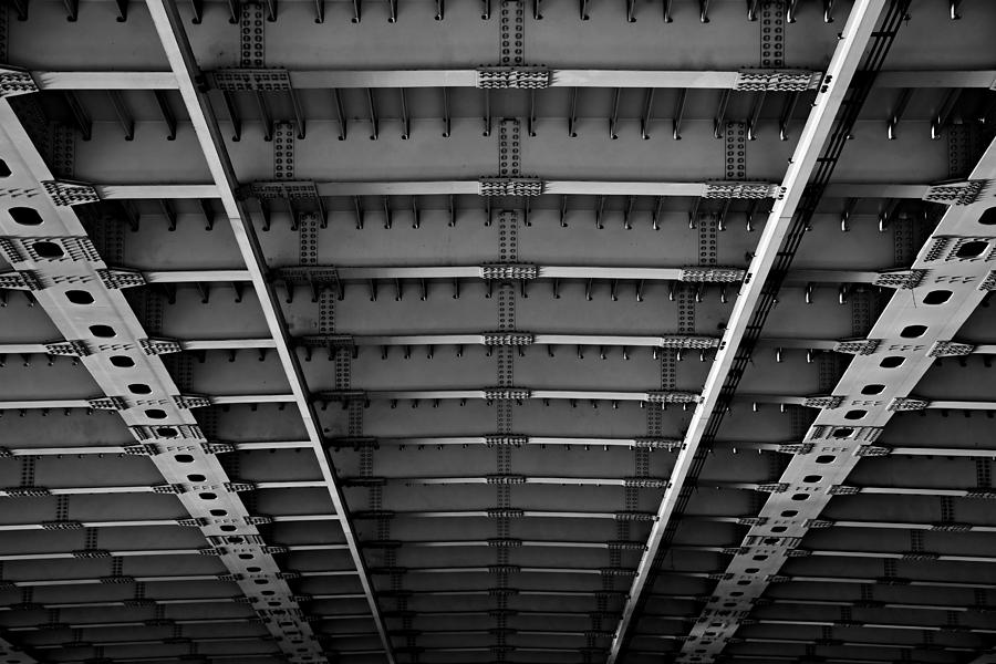 Bridge Photograph - Bridgework by Steven Liveoak