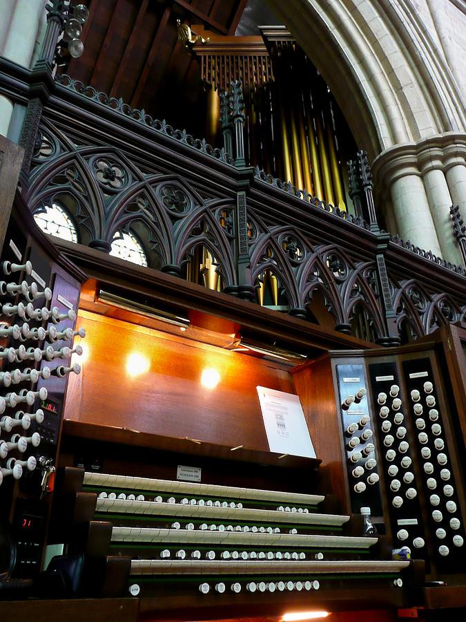 Bridlington Priory pipe organ by Jenny Setchell