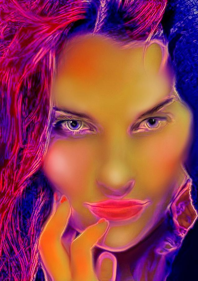 briget digital art by michael todd