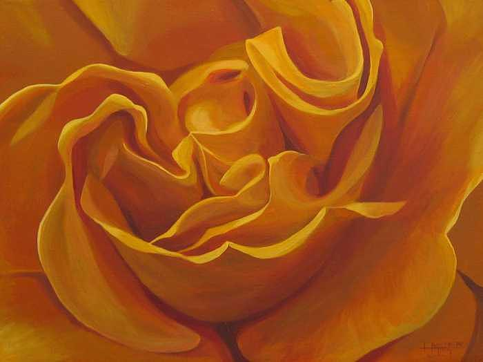 Bright as Yellow Painting by Hunter Jay