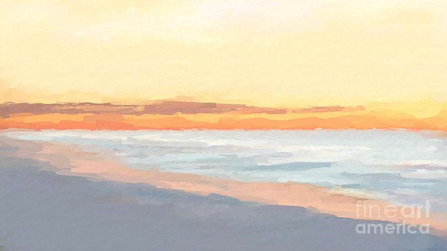Bright Beach Sunday by ANTHONY FISHBURNE
