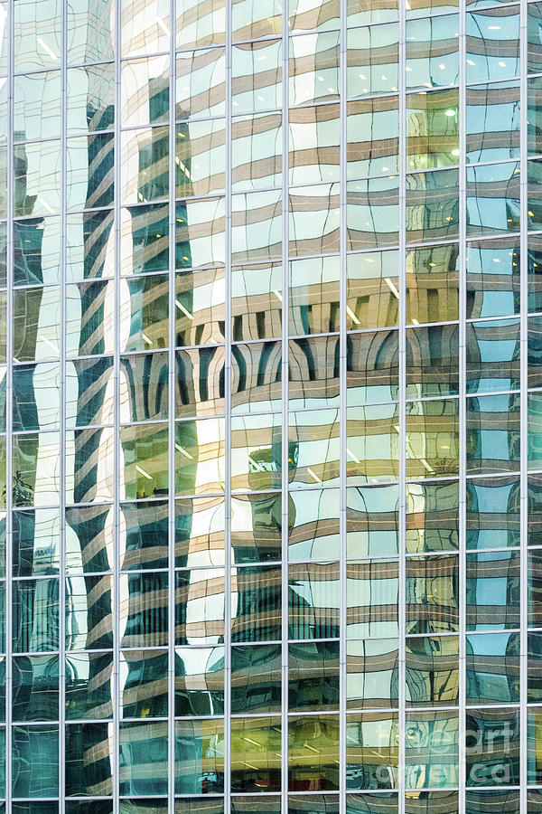 Building Photograph - Bright City 3 by Werner Padarin