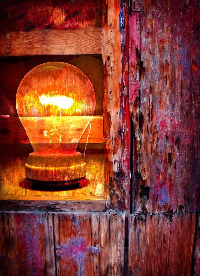 Skip Photograph - Bright Idea by Skip Hunt