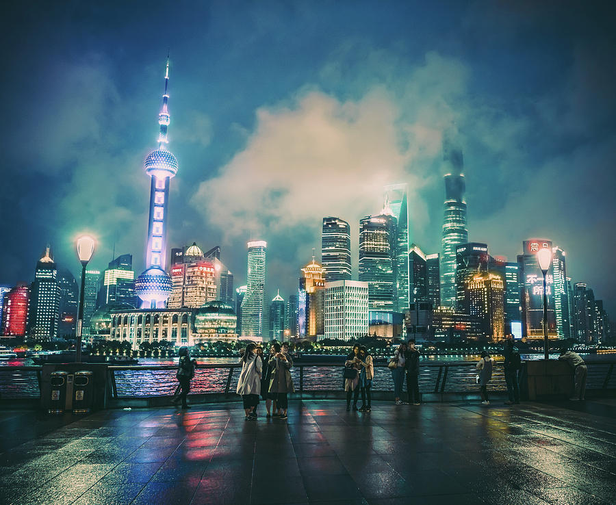 Bright Lights of Pudong by Nisah Cheatham