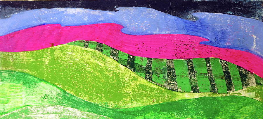 Land Mixed Media - Bright Morning by Jame Hayes