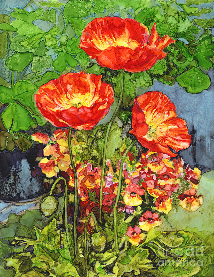 Bright Poppies by Vicki Baun Barry