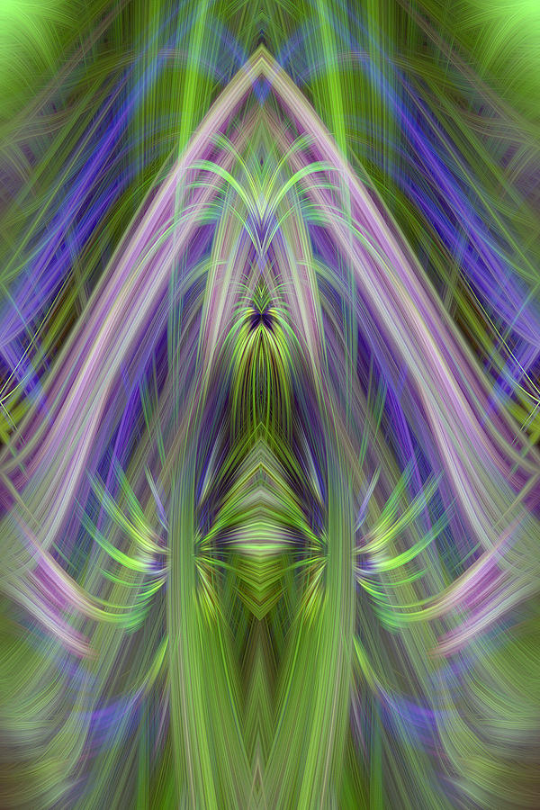 Abstract Photograph - Bright Recolections by Linda Phelps