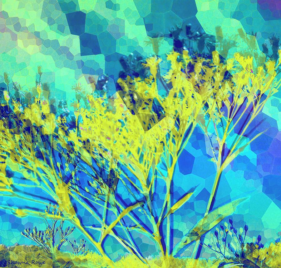 Vernonia Digital Art - Brighter Day by Shawna Rowe