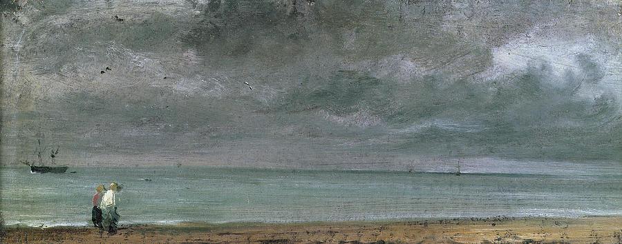 Brighton Painting - Brighton Beach by John Constable