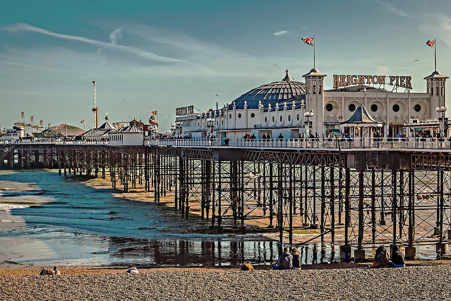 Brighton Pier by Makk Black