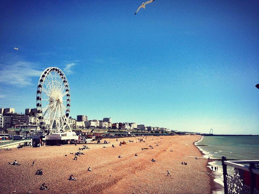 Brighton Photograph - Brighton  by Rossana Azzoni