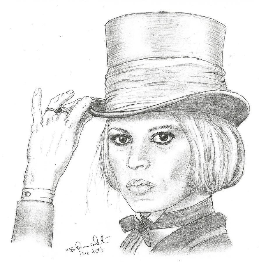 Brigitte Bardot Drawing - Brigitte Bardot by Steven White