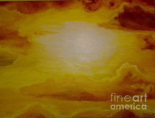 Sunshine Painting - Brilliance by Asha Porayath