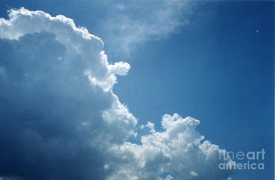 Blue Sky Photograph - Brilliance by Daniel Robinson