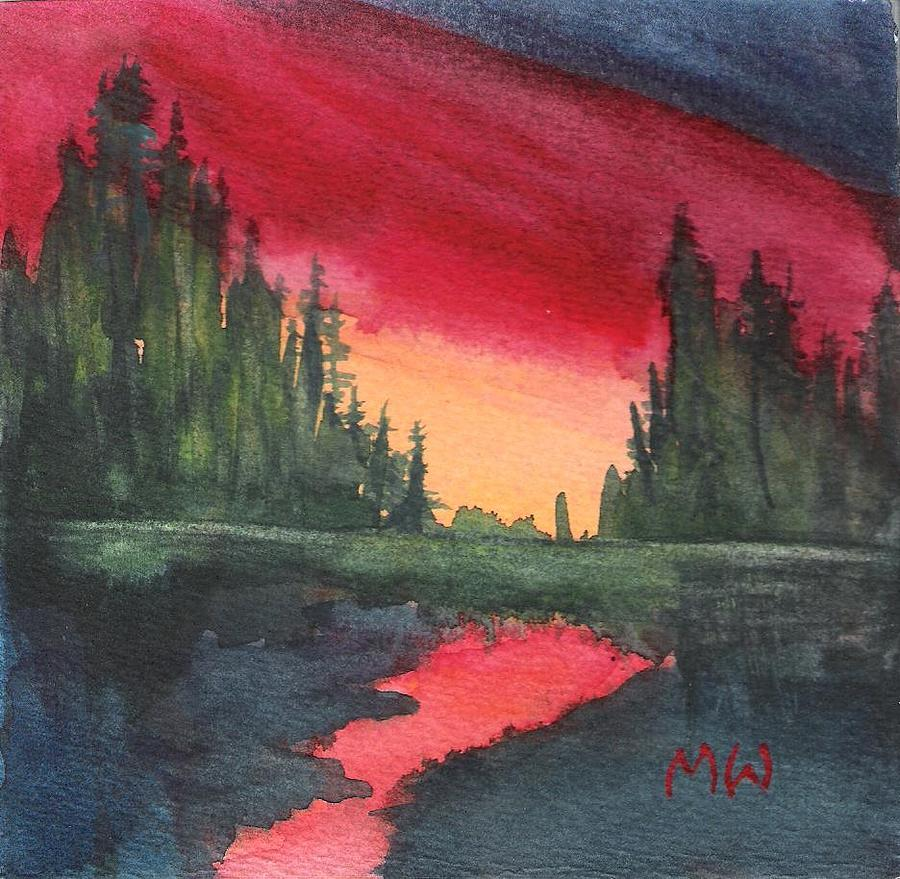 Brilliant Sundown by Marsha Woods