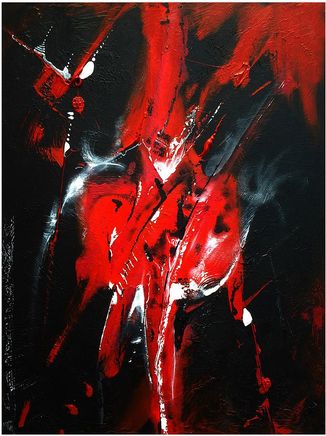 Abstract Painting - Brims by Brian  Hall