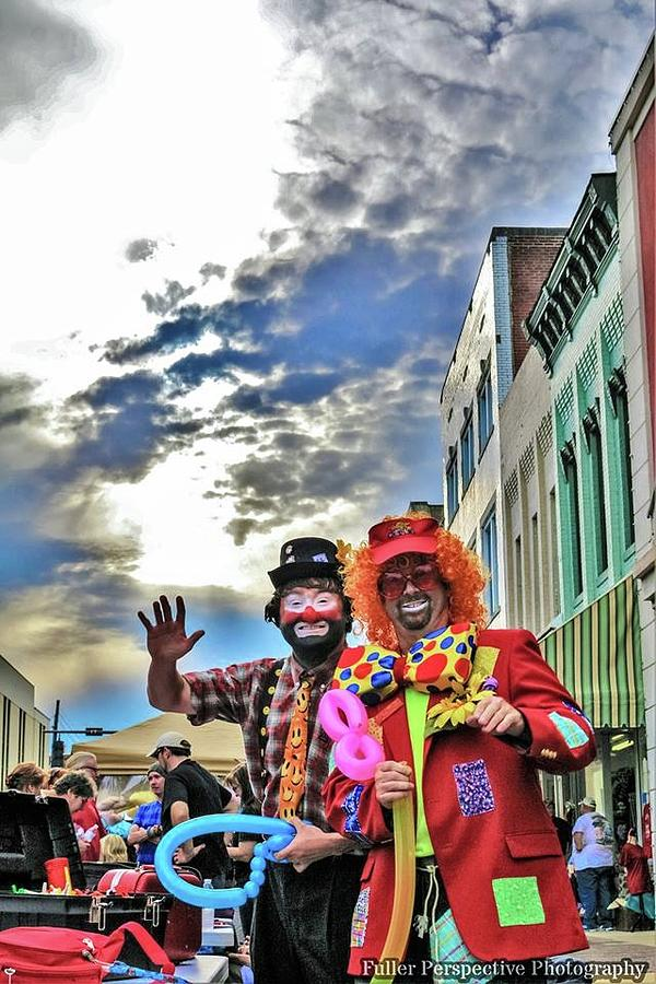 Sky Photograph - Bring Out The Clowns by Chad Fuller