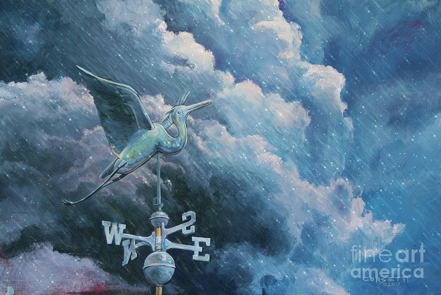 Bringing The Storm Rain by Rob Corsetti