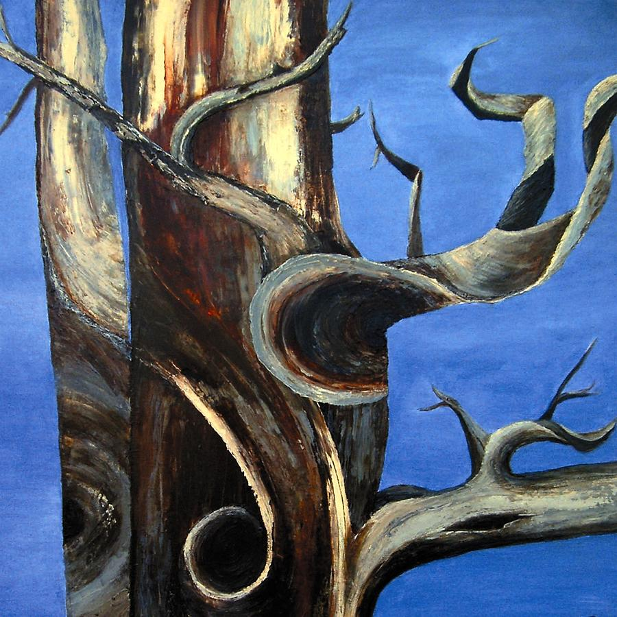 Bristlecone Painting - Bristlecone Tree No. 2 by Wanda Pepin