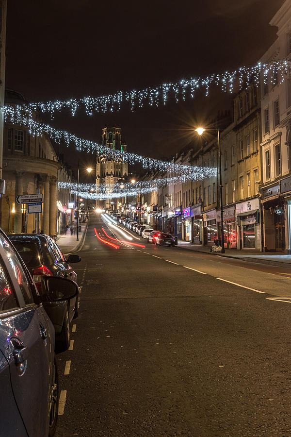 Bristol Christmas Lights On Park Street Photograph by Jacek ...