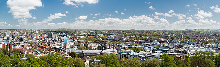 Bristol Skyline by Paul Hennell