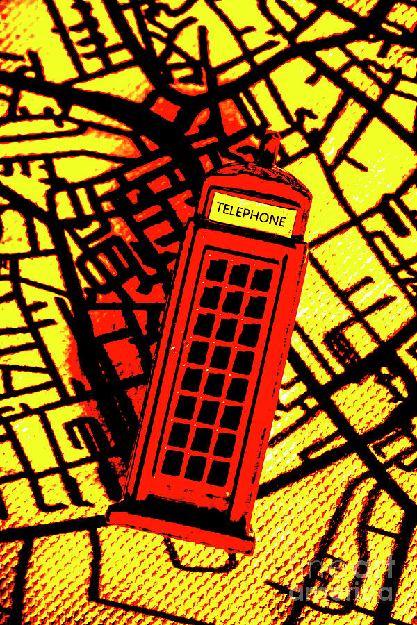 Telephone Photograph - Brit Phone Box by Jorgo Photography - Wall Art Gallery