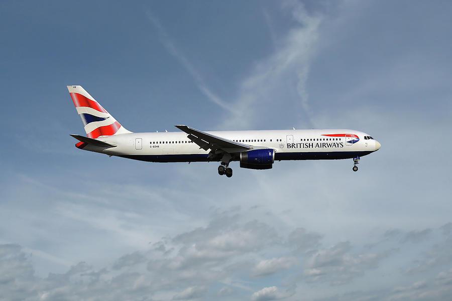 British Airways Photograph - British Airways Boeing 767-336 by Smart Aviation
