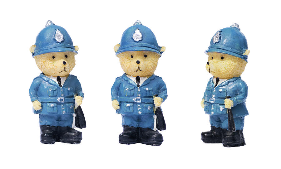 British Bobbies by Meirion Matthias