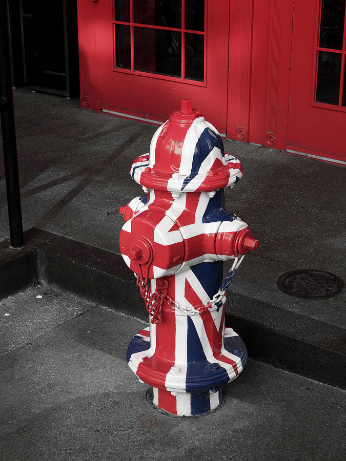 America Photograph - British Fire Hydrant by Rae Tucker