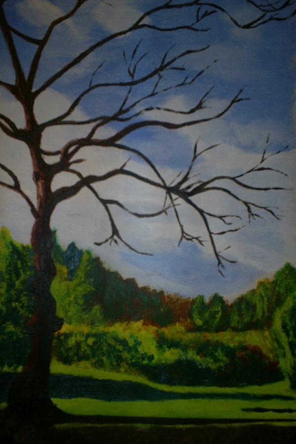 British Landscape Painting Painting - British Landscape by James Dolan