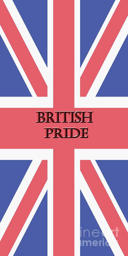 Flag Photograph - British Pride by Judy Hall-Folde