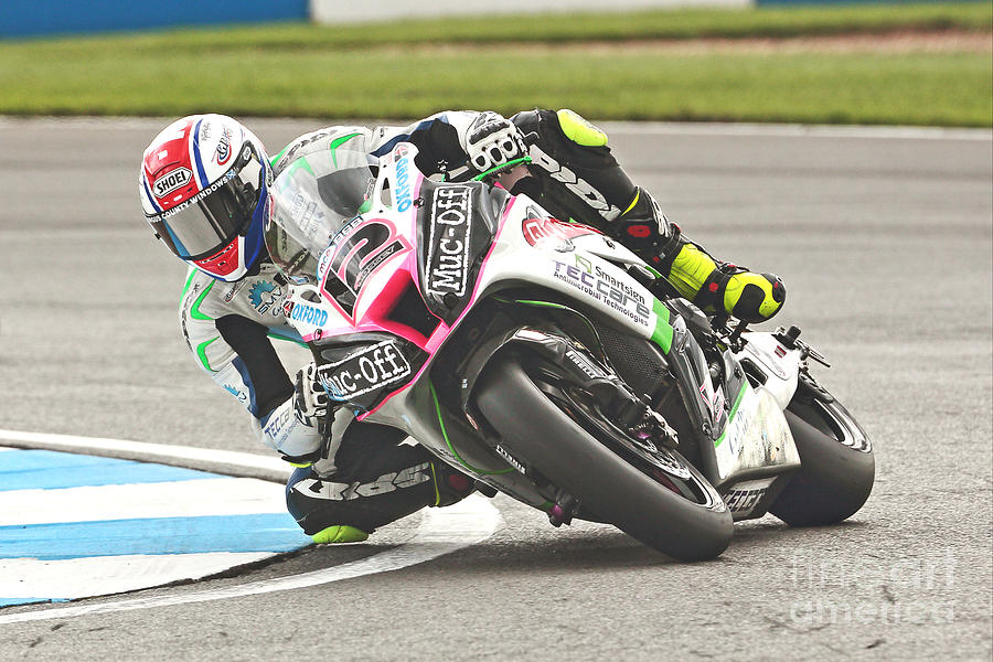 Motorracing Photograph - British Superbikes by Peter Hatter