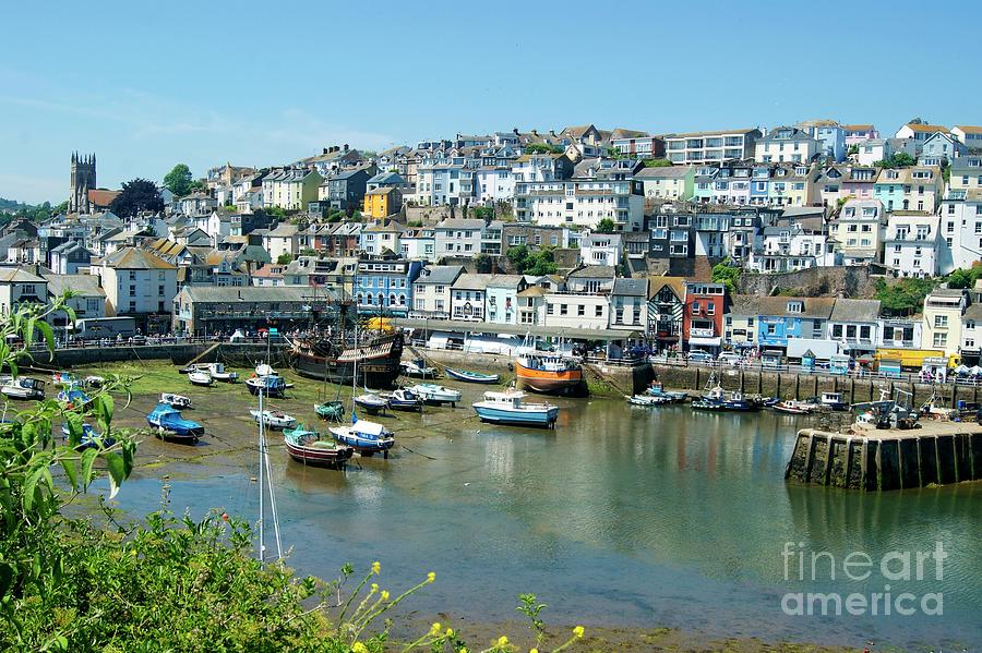 Brixham Harbour by David Birchall