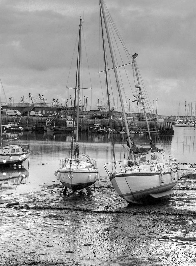 Attraction Photograph - Brixham Harbour  by Mike Lester