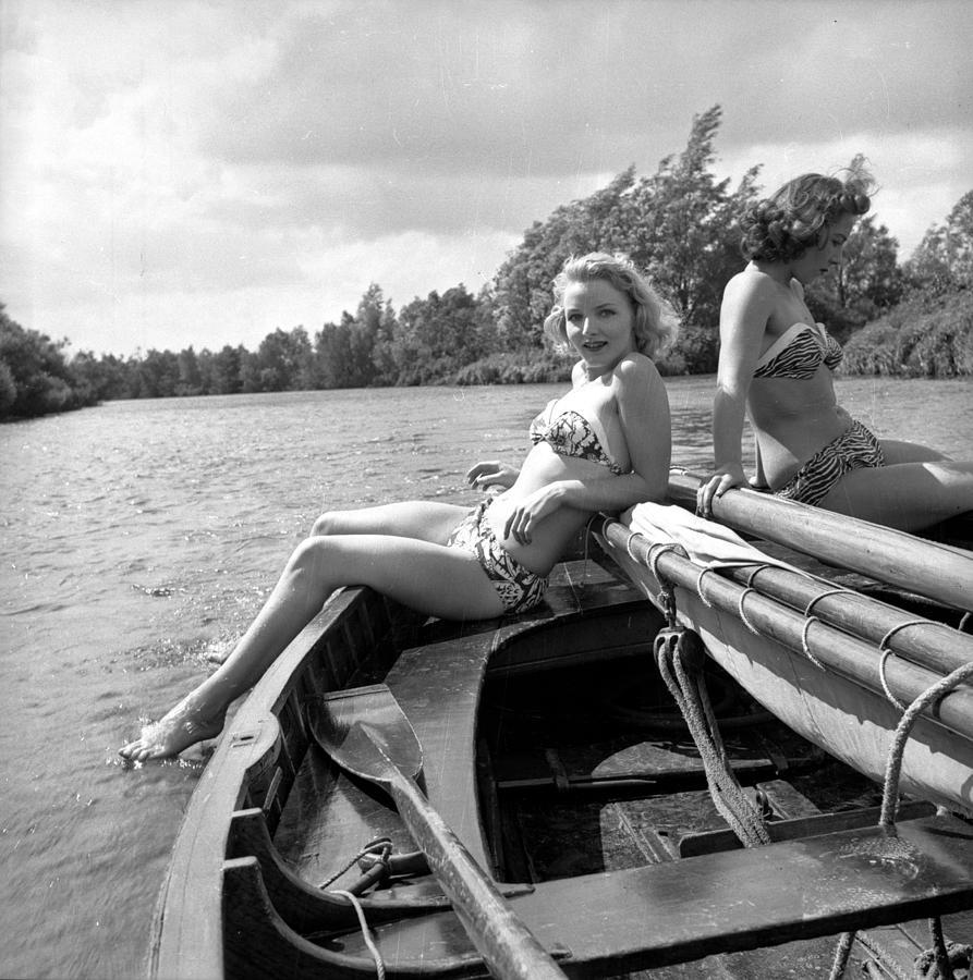 Teenager Photograph - Broads On Board by John Drysdale