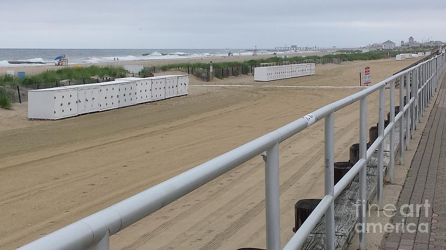 Jersey Shore Photograph - Broadwalk View by GJ Glorijean