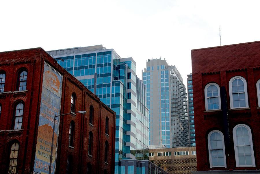 Nashville Photos Photograph - Broadway Nashville Tn by Susanne Van Hulst