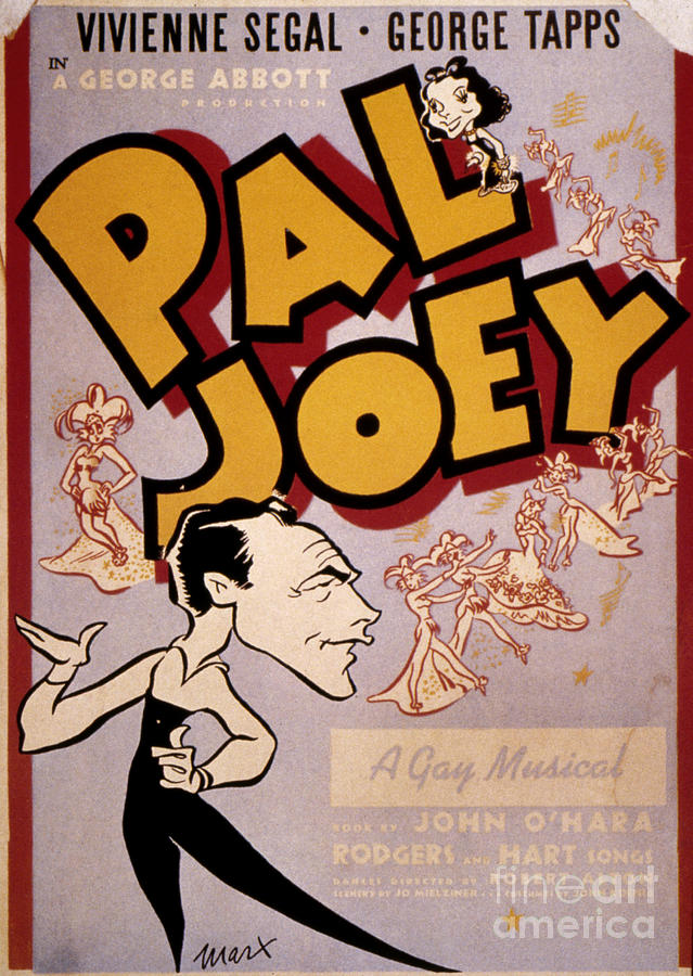 1940 Photograph - Broadway: Pal Joey, 1940 by Granger