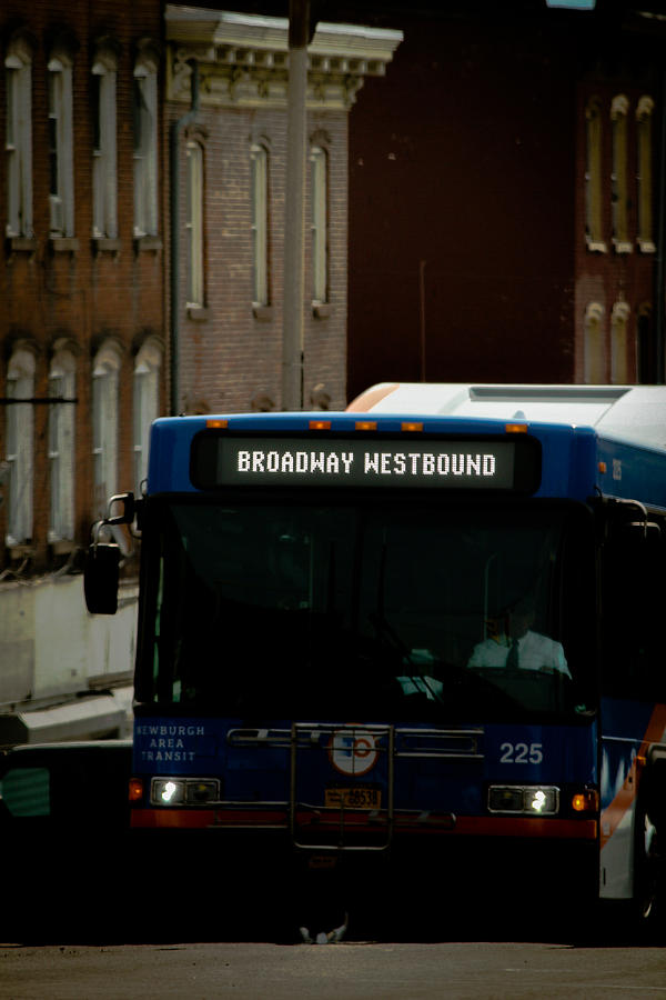 Newburgh Photograph - Broadway Westbound by Victory Designs