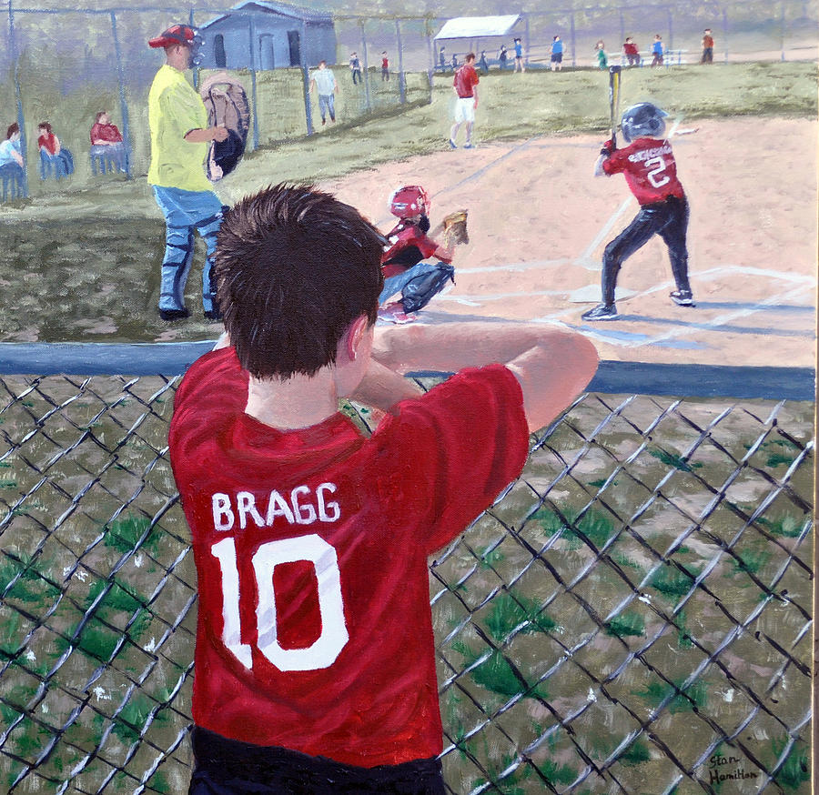 Child Painting - Brock by Stan Hamilton