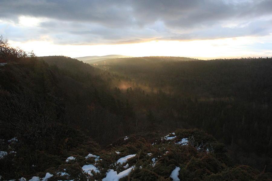 Brockway Mountain Morning Photograph